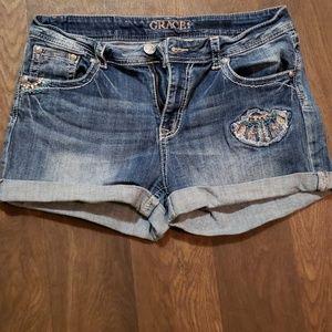 Grace jean shorts